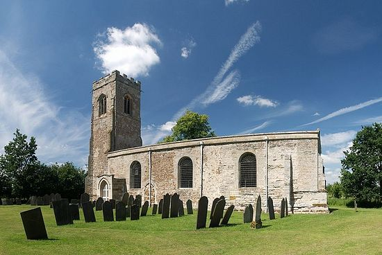 St. Wistan's Norman Church in Wistow, Leicestershire