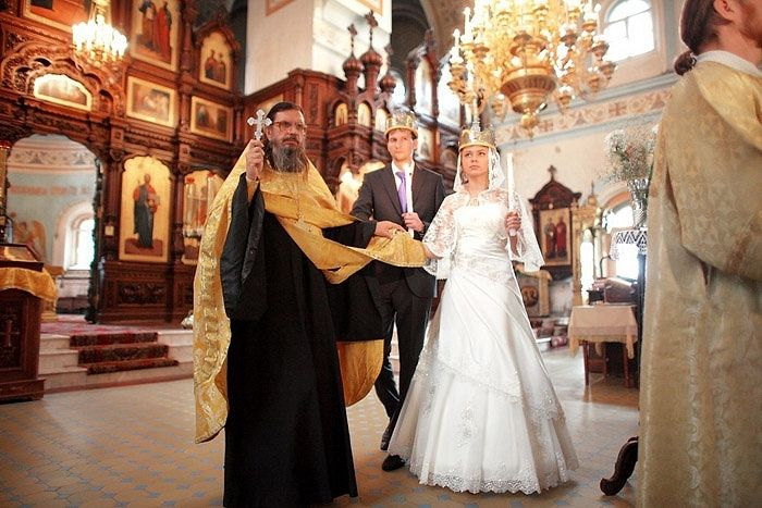Венчание – духовное основание семьи