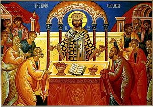 Communicating with the Lord at His table