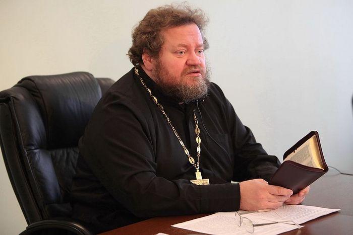 Archpriest Oleg Stenyayev.