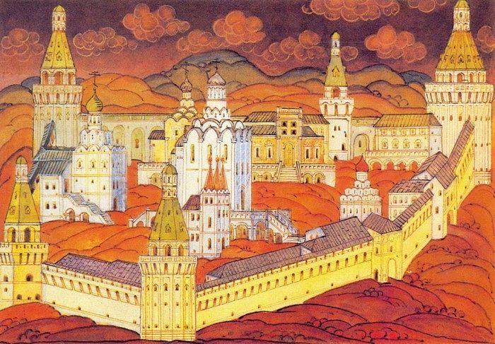 Симонов монастырь в первой половине XVIII в.