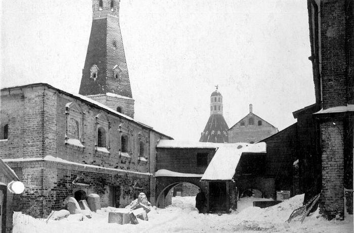 Разоренный Симонов монастырь