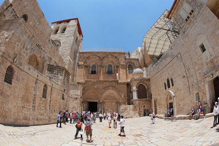 Храм Гроба Господня в Иерусалиме. Фото: РИА Новости/ Виталий Белоусов