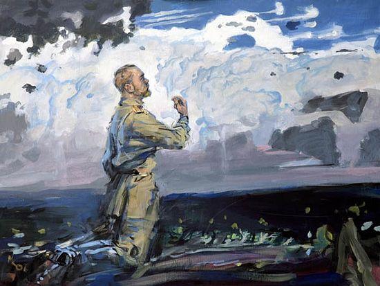 """""""Prayer"""", by Mikhail Kopyev."""