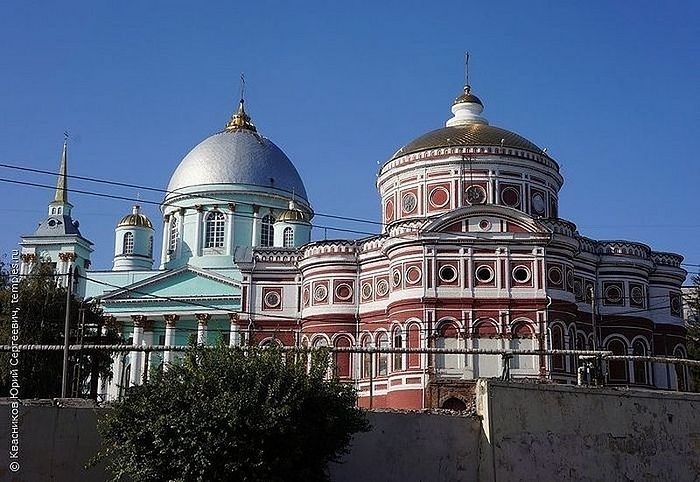 Знаменский монастырь. Курск