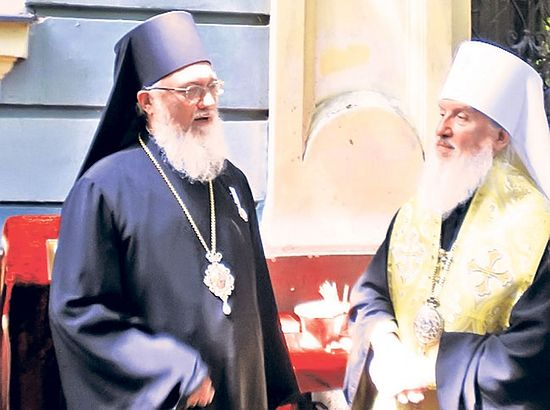 Владика Никанор и митрополит Дмитриј (Фото Ј. Т. Црногорац)