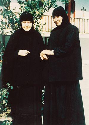 Монахини Макрина и Таксиархия