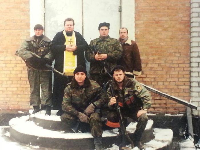 Храм в станице Асиновской. Чечня