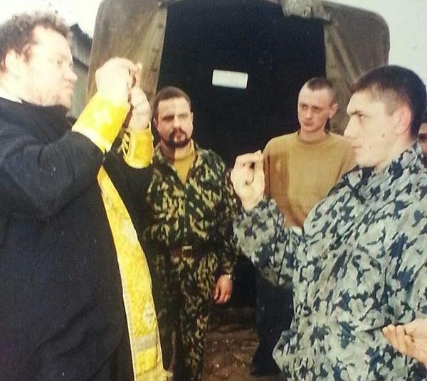 Катехизация в боевых условиях. Чечня