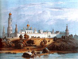 Симонов монастырь с церковью Рождества Пресвятой Богородицы