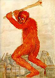 Антибольшевистский плакат времен Гражданской войны