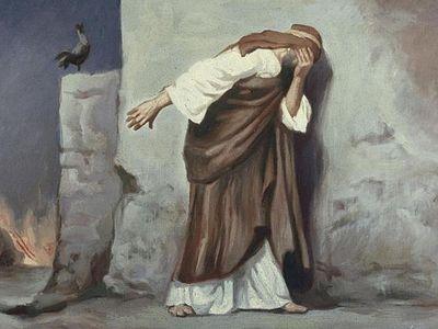 Ступени покаяния, <br>или Что опечалило апостола?