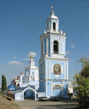 Никольский храм Воронежа, прихожанкой которого была мать Феодора