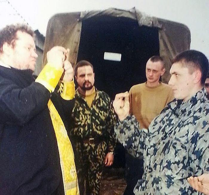 Катихизација у борбеним условима. Чеченија