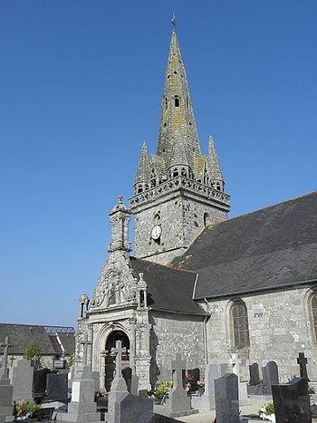 Church of St. Herveus in Lanhouarneau