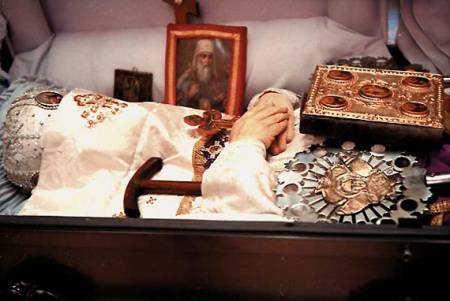 The incorrupt relics of St. John Maximovitch