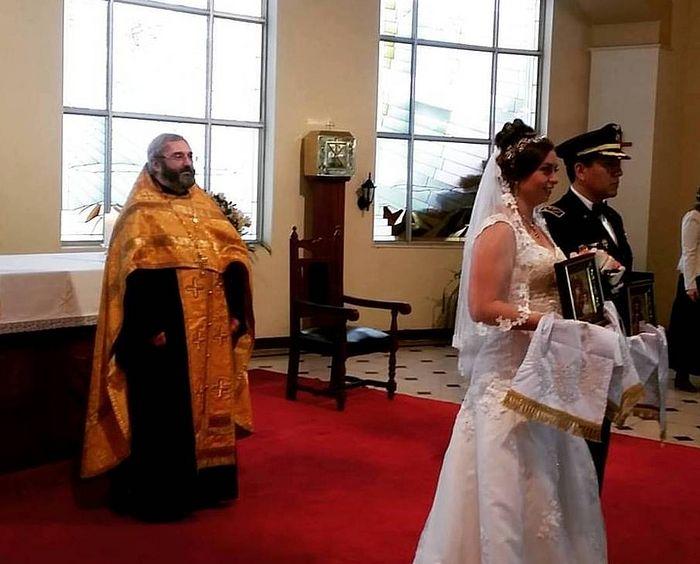 Первое венчание в Лиме. Июнь, 2016 г.