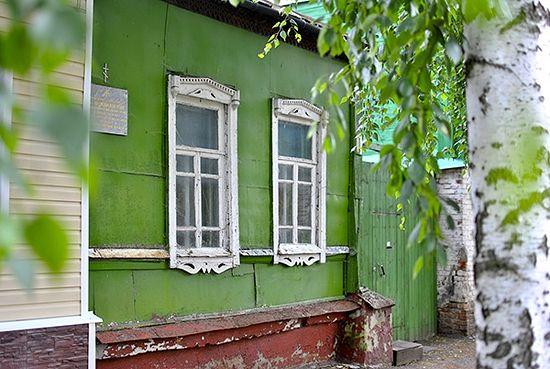 Дом № 9 на ул. Комсомольской, в котором с 1944 по 1946 годы жил архиепископ Лука. Фото: Екатерина Жмырова / Русская Планета