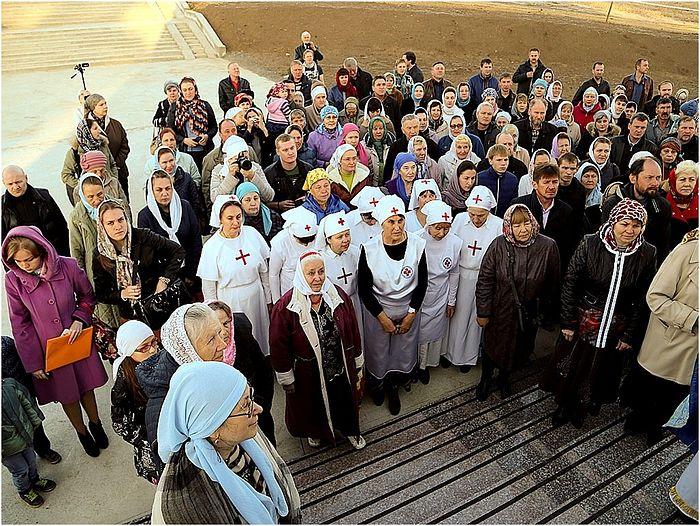 Открытие Дома милосердия в селе Пивовариха