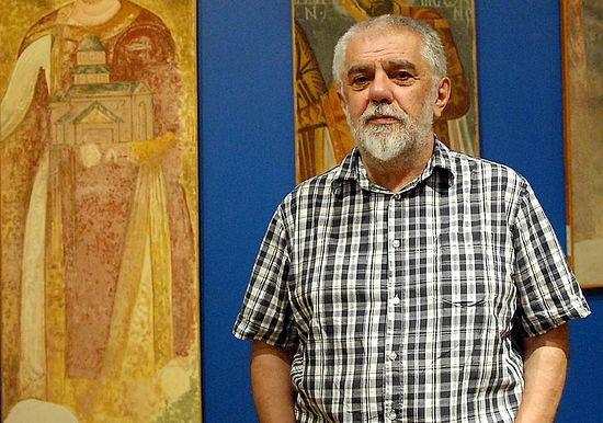 Андреј Вујновић, музејски саветник Фото П. Митић