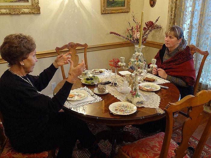Rida and Olga Rozhneva