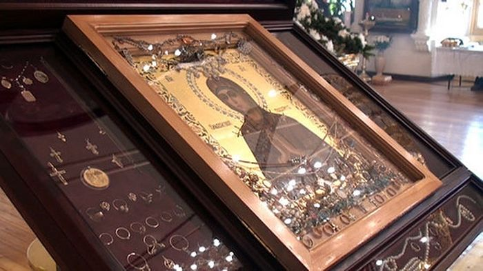 "The ""Softener of Hardened Hearts"" icon of the Mother of God"
