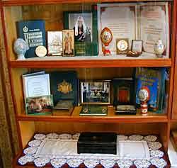 Музей в Пюхтицком монастыре, посвященный Святейшему патриарху Алексию