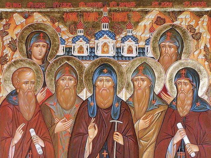 Преподобные Иона и Васса Псково-Печерские
