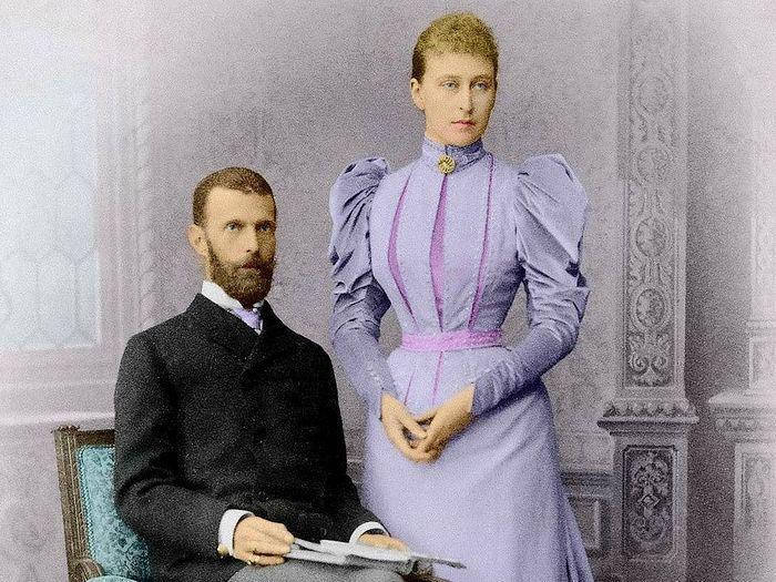 Преподобномученица великая княгиня Елисавета с мужем Сергеем Александровичем