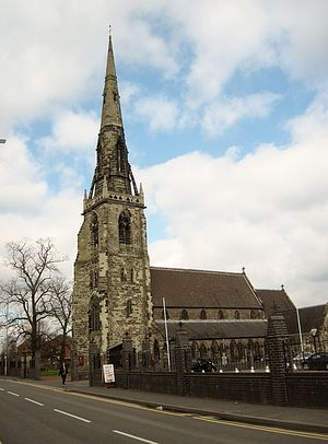 RC Church of Sts. Joseph and Etheldreda in Rugeley, Staffs (photo from Ipernity.com)