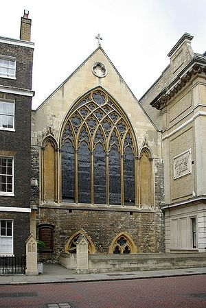 St. Etheldreda's Church in Ely Place, London (taken from Quintessentialruminations.worldpress.com)