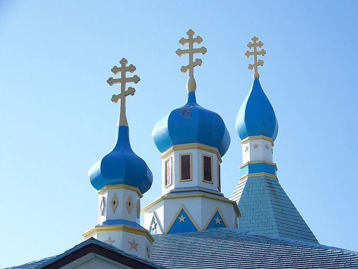 The Holy Assumption Russian Orthodox Church in Kenai is one three designated National Historic Landmarks. (Melissa Lake, Smithsonian.com Photo Contest Archives)