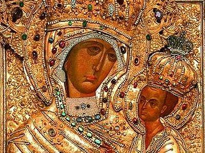 Чудотворна икона Пресвете Богородице Тихвинска