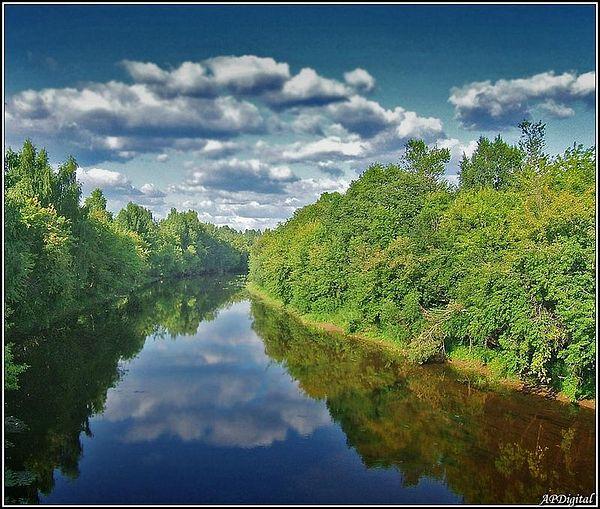 Река Тихвинка