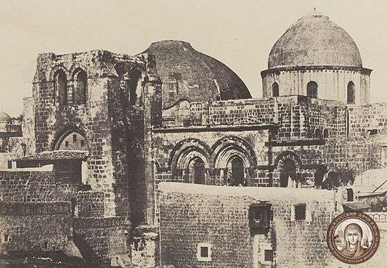 Старый купол перед началом реставрационных работ