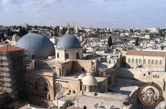 Храм Гроба Господня. Современный вид