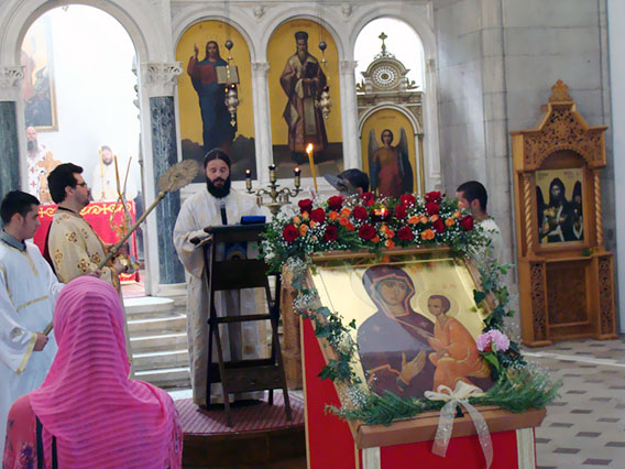 Преосвећени Епископ Јоаникије служио Литургију у никшићком Саборном храму