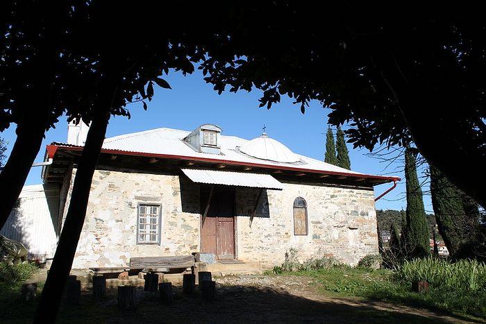Келья Панагуда, где подвизался старец Паисий Святогорец
