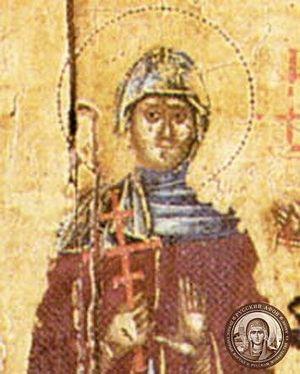 Преп. Ангелина Сербская. Иконописный подлинник