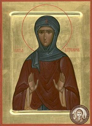 Св. Ангелина Сербская. Икона. Сергиев Посад