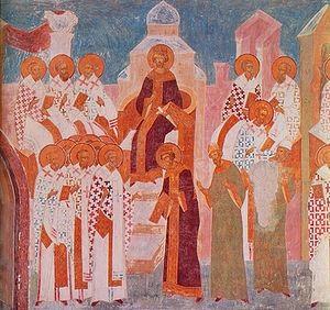 II Вселенский Собор. Роспись собора в честь Рождества Пресв. Богородицы Ферапонтова монастыря