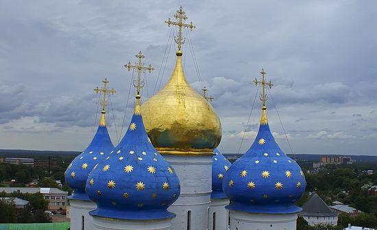 Купола храма Успења Пресвете Богородице