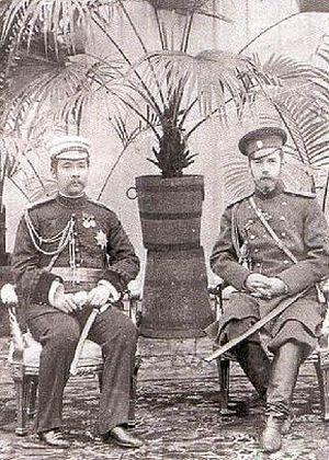 Король Чулалонгкорн и император Николай II