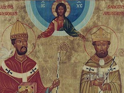 Начало христианской миссии среди англосаксов