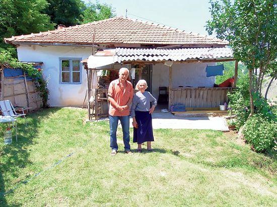 Огњана Јанковић и њен зет Раденко Мићо Радомировић (Фото: Б. Радомировић)