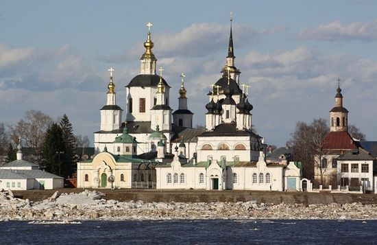 Church of St. Procopius, Veliky Ustiug, on the Sukhona River.