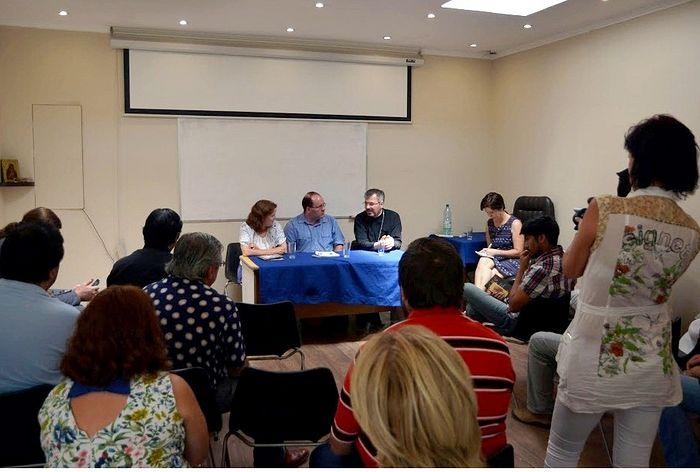Встреча прихода Св.Николая Сербского с Аркадием и Еленой Малер - 2016, Сантьяго