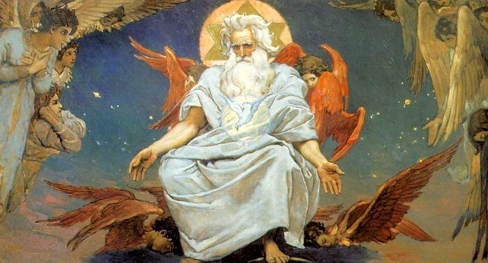 Бог Саваоф, В. М. Васнецов, 1885