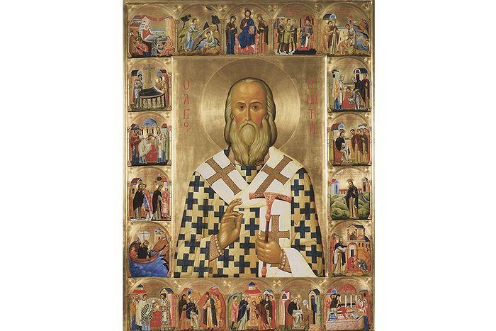 Святитель Игнатий Брянчянинов Икона с житием