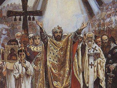 Святой равноапостольный князь Владимир (+ВИДЕО)